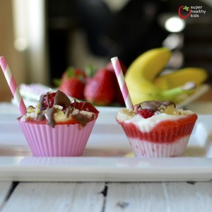 Healthy Banana Split Freezer Bites Recipe