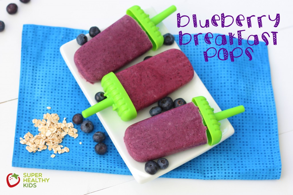 Top 10 Ice Pop Molds for Fruit and Veggie Pops. Delicious Blueberry Breakfast Pops!