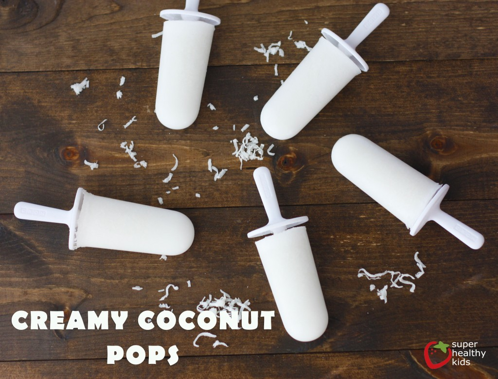 Top 10 Ice Pop Molds for Fruit and Veggie Pops. Yummy Creamy Coconut Pops!