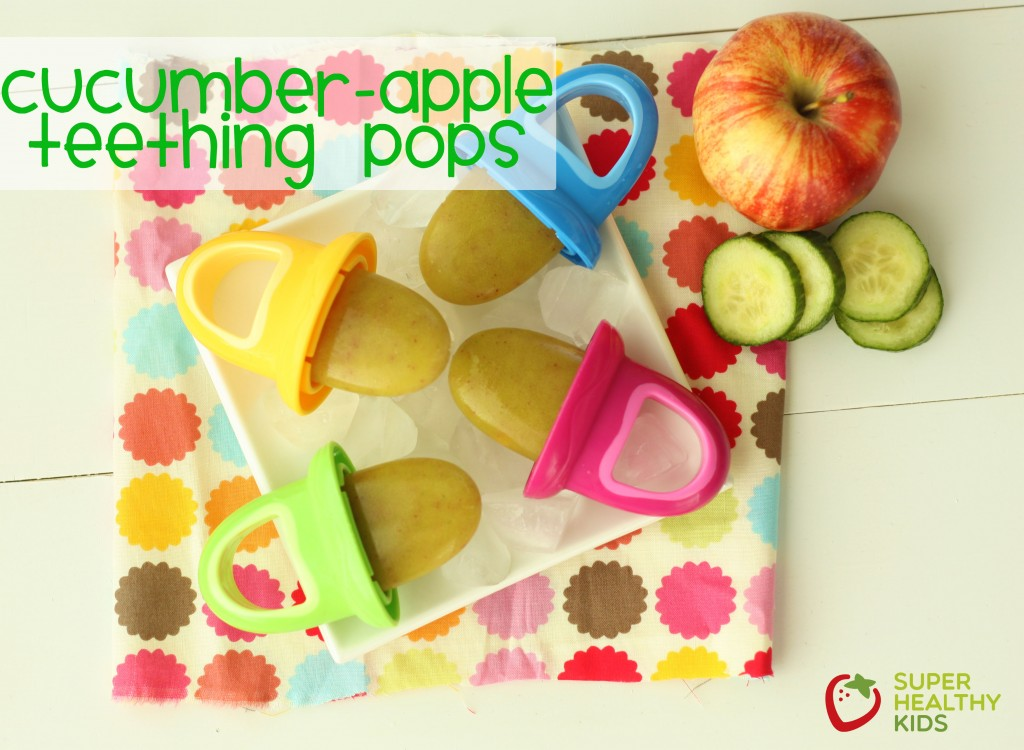 Top 10 Ice Pop Molds for Fruit and Veggie Pops. Refreshing Cucumber Apple Teething Pops!