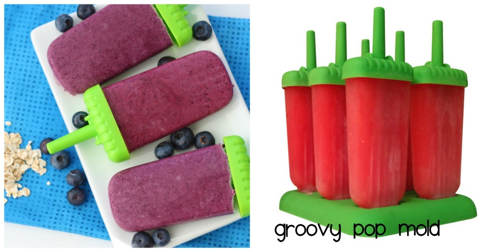 Top 10 Ice Pop Molds for Fruit and Veggie Pops. Groovy Pop Mold.