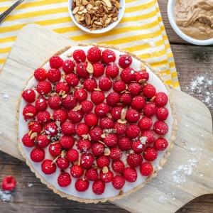 Raspberry Almond Tart Recipe