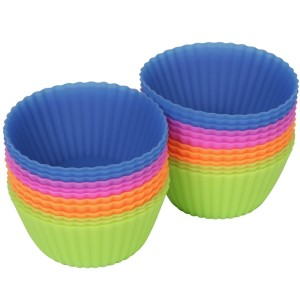 Silicone muffin cups, more than for muffins