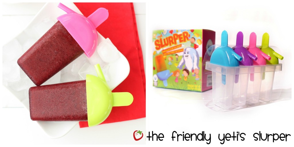 Top 10 Ice Pop Molds for Fruit and Veggie Pops. Slurper Ice Pop Mold Collage
