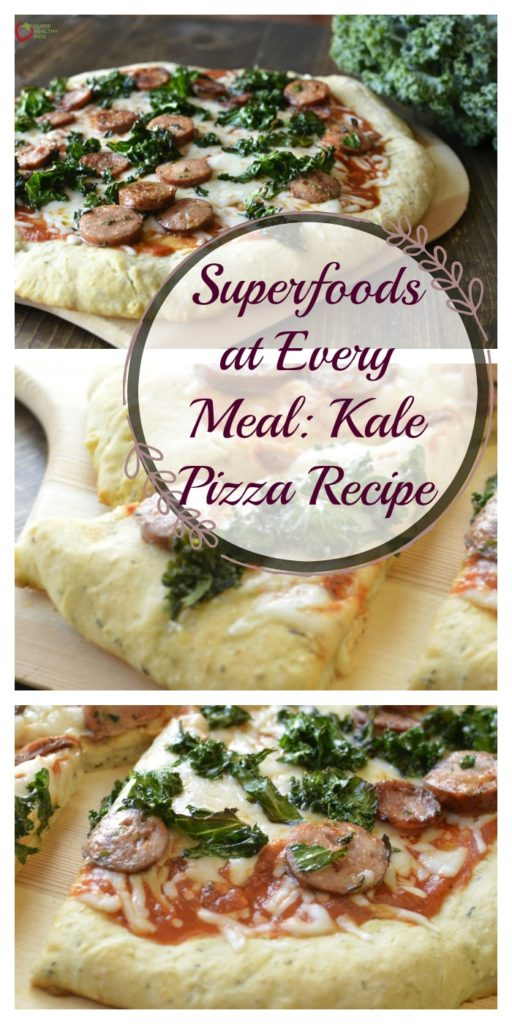 Superfoods at Every Meal: Kale Pizza Recipe