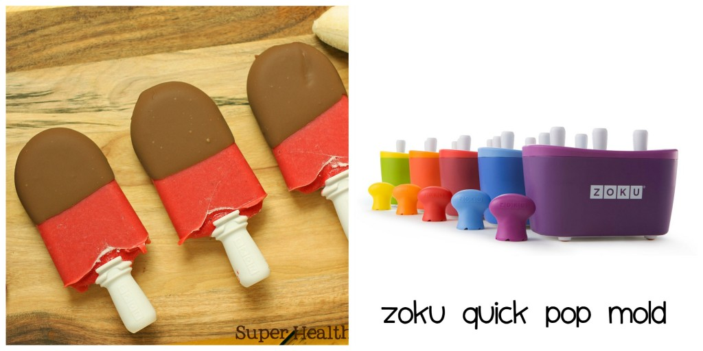 Top 10 Ice Pop Molds for Fruit and Veggie Pops. Zoku Quick Pop Mold