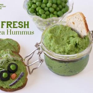 Fresh Green Pea Hummus Recipe