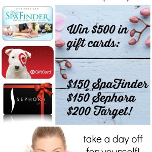 Tweet Yourself to a Special Day! {Spa Giveaway}
