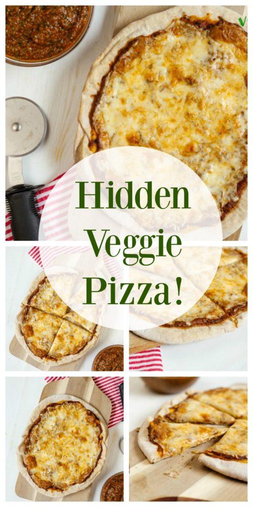 Food and Recipes- Hidden Veggie PIzza
