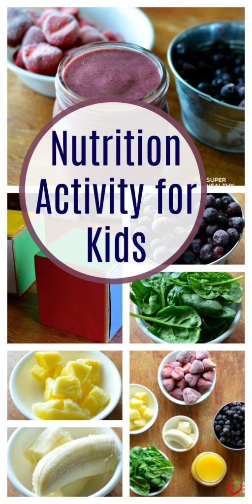Nutrition Activity for Kids