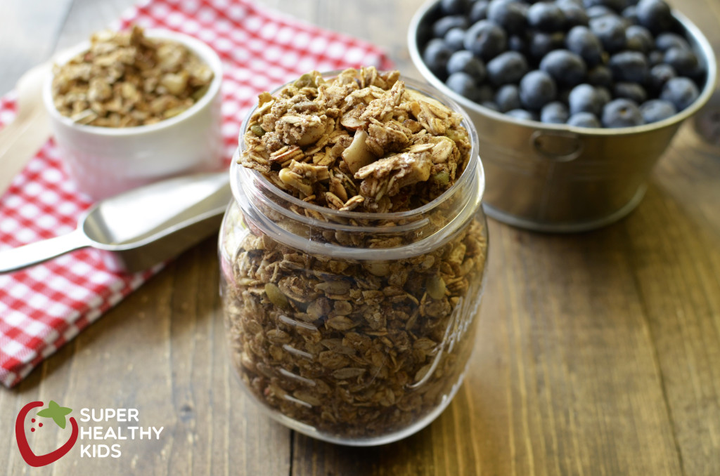 Healthy Sugar Free Granola Recipe. We were able to get this granola crunchy, even without adding any sugar at all!