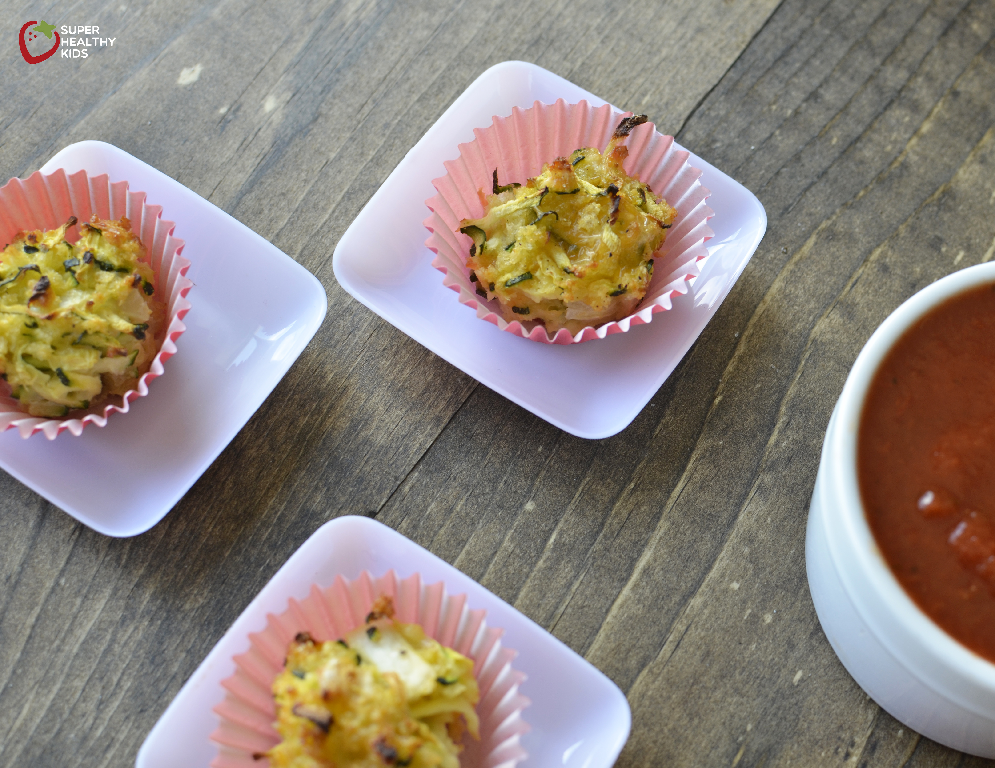 Baked Zucchini Bite Recipe. How to turn zucchini into a cheesy snack ...