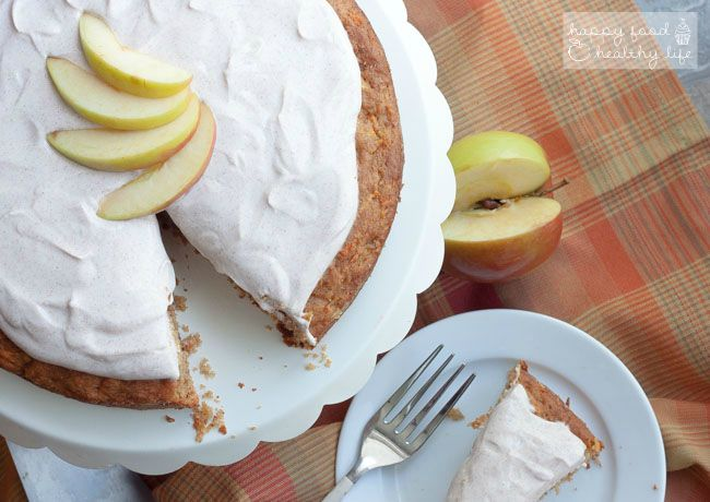 Apple Carrot Cake With Greek Yogurt Frosting Healthy