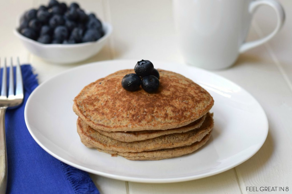 Brain Booster Pancakes - High in protein, fiber, and omega 3s - the perfect start to your child's day! www.superhealthykids.com