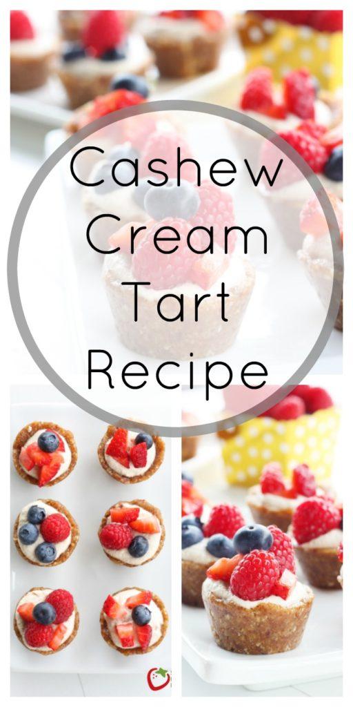 Cashew Cream Tart Recipe