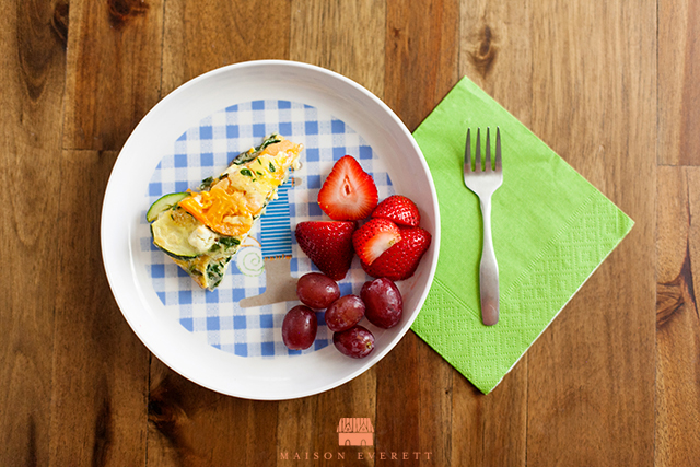 Heirloom Tomato and Zucchini Frittata. Delicious way to add veggies to breakfast! www.superhealthykids.com