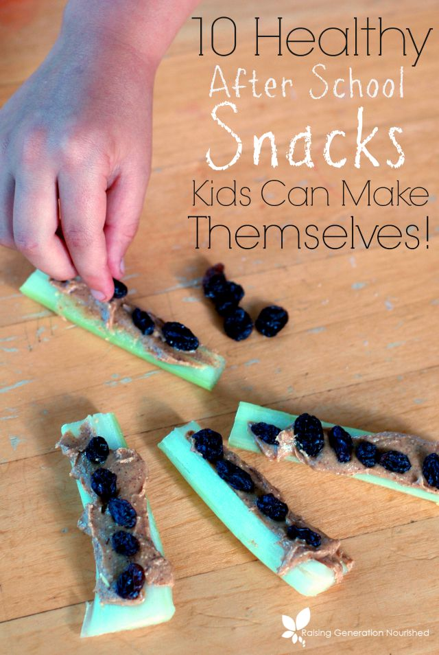 93 easy recipes for kids to make by themselves 11 easy for Easy after school snacks for kids to make