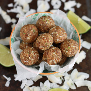 Coconut Lime Energy Bites