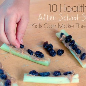 10 Healthy After School Snacks Kids Can Make Themselves!