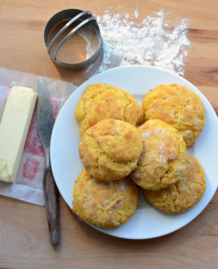 Old Fashioned Sweet Potato Biscuits