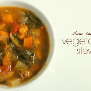 Slow Cooker Vegetable Stew Recipe