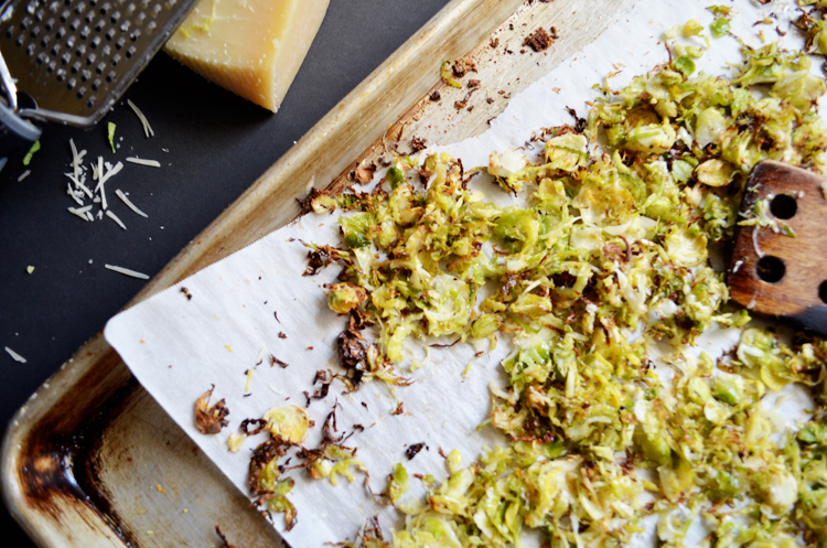 The right way to serve this seasonal veggie! Perfectly Crunchy Parmesan Brussels Sprouts!