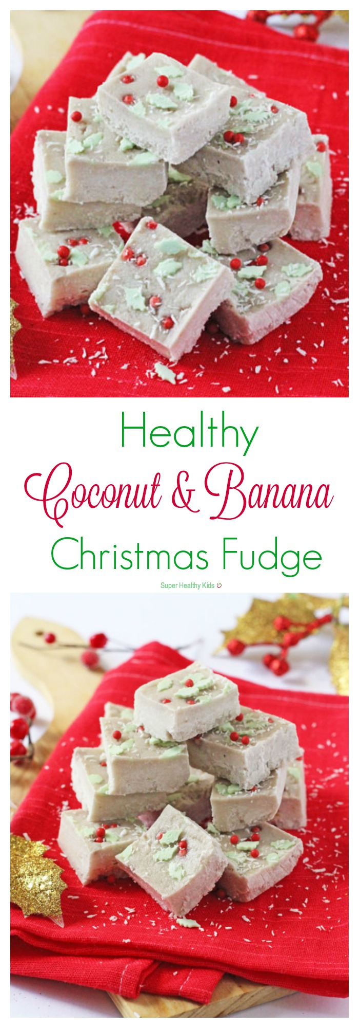Healthy coconut and banana christmas fudge healthy ideas for kids healthy coconut and banana christmas fudge a super healthy christmas fudge made with just two forumfinder Gallery