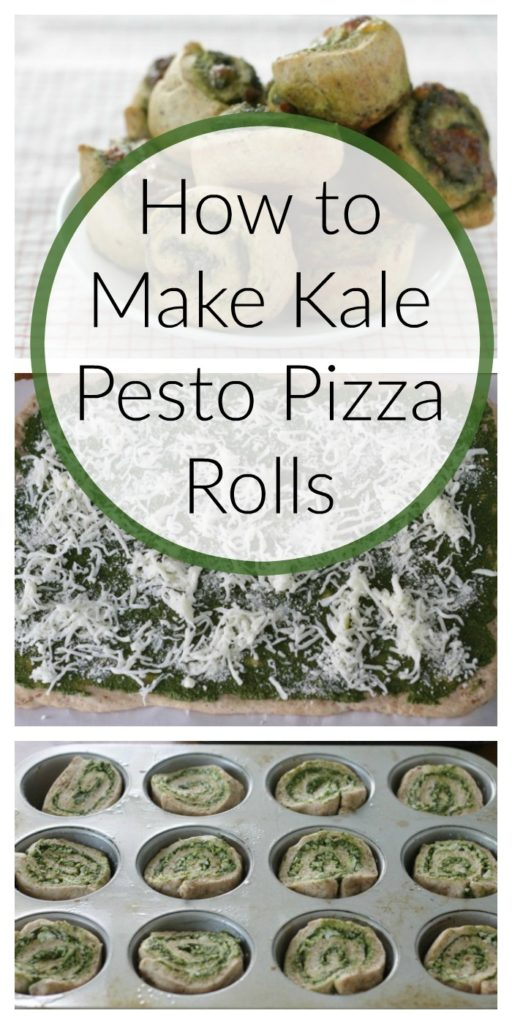 How to Make Kale Pesto Pizza Rolls