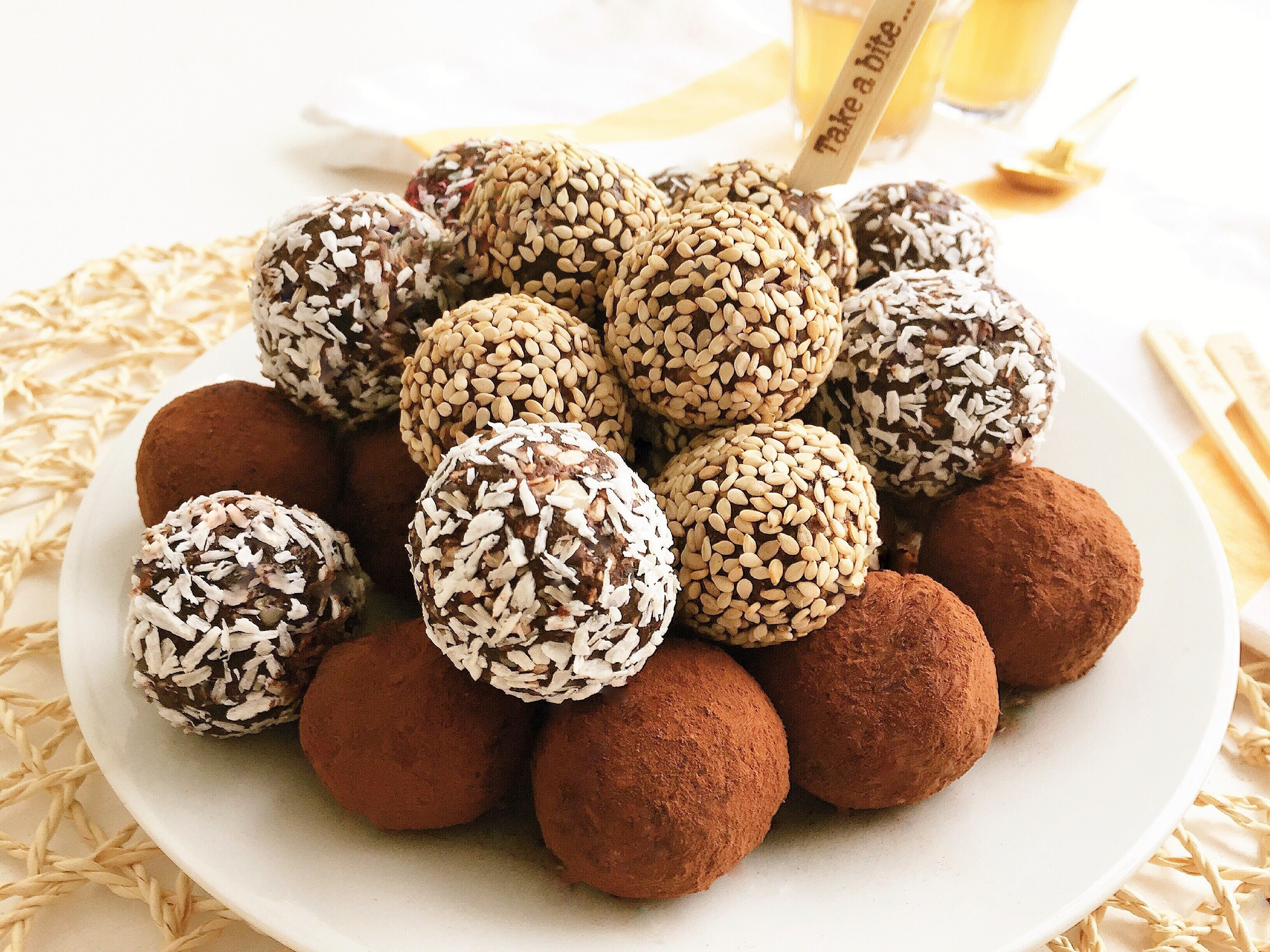 Healthy Date Truffles No Cook Healthy Ideas For Kids