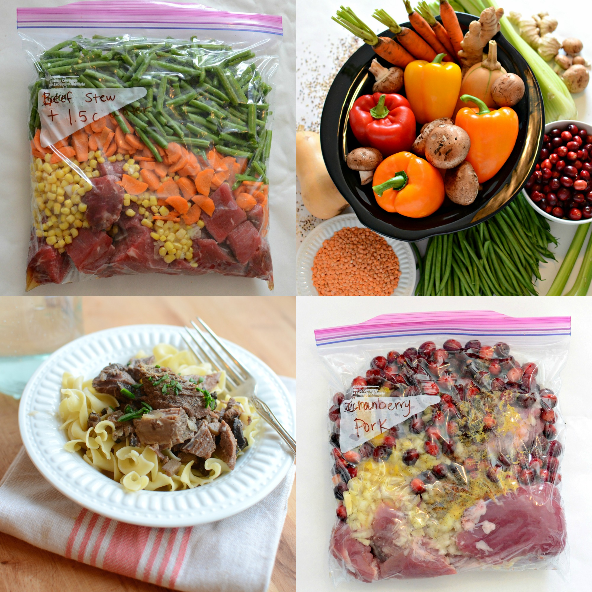 10 Quick And Healthy Freezer To Slow Cooker Recipes No
