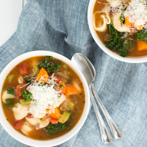Easy Vegetable Tortellini Soup