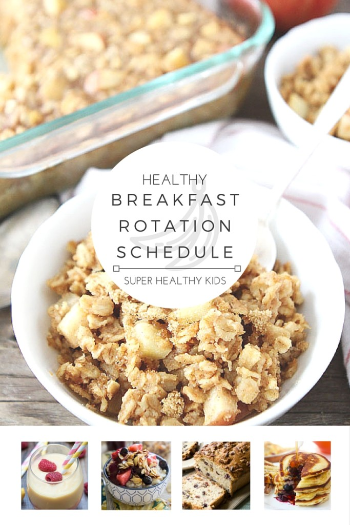 Healthy Breakfast Weekly Planner | Healthy Ideas for Kids
