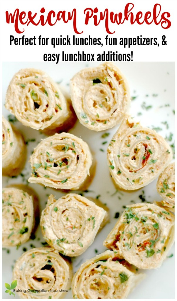 Mexican Pinwheels Perfect For Quick Lunches Fun