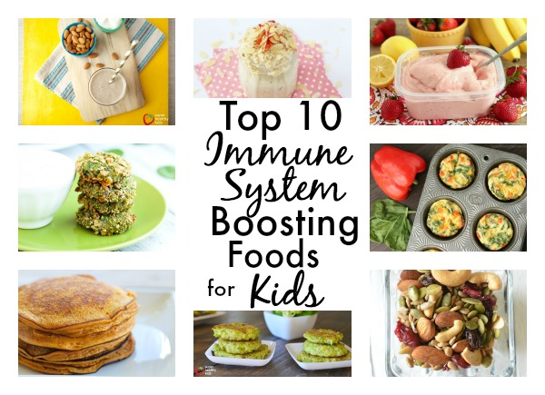 Top 10 Immune System Boosting Foods For Kids With Ideas
