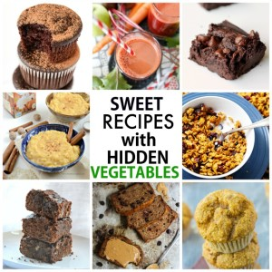10 Sweet Recipes with Hidden Vegetables