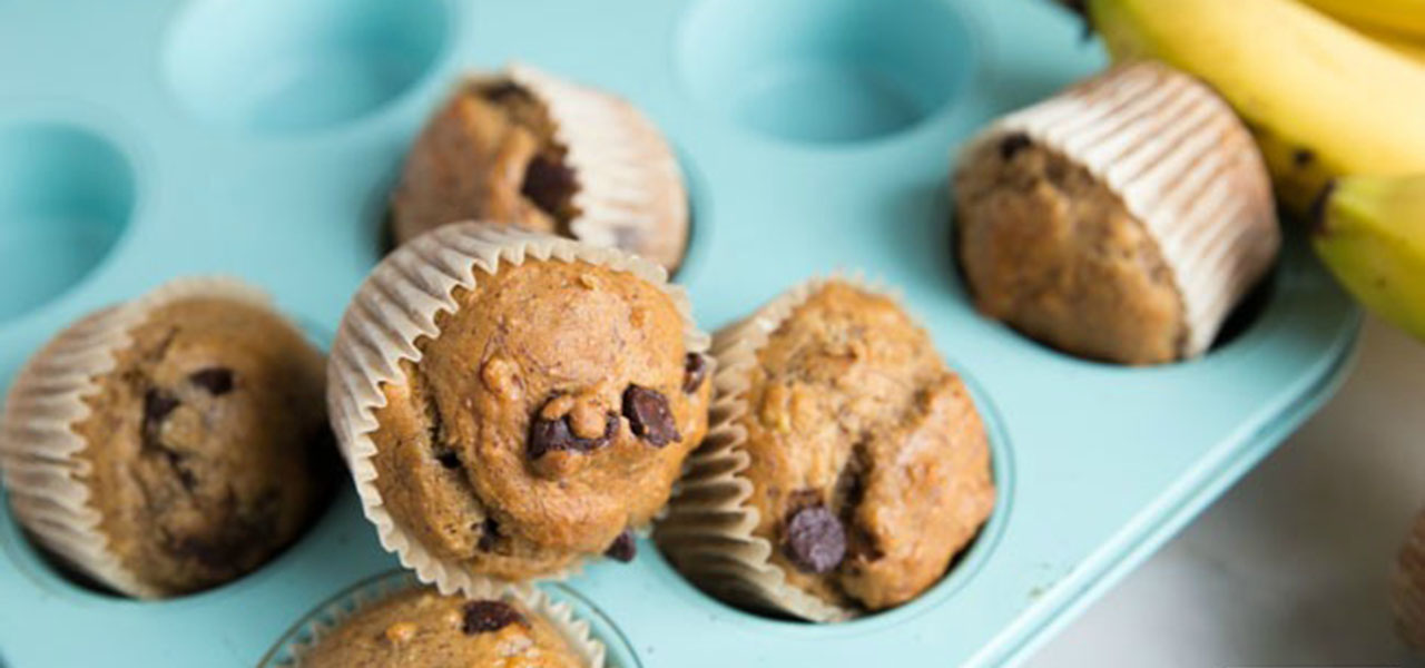 Dark chocolate chip whole wheat banana bread muffins healthy dark chocolate chip whole wheat banana bread muffins healthy ideas for kids forumfinder Image collections