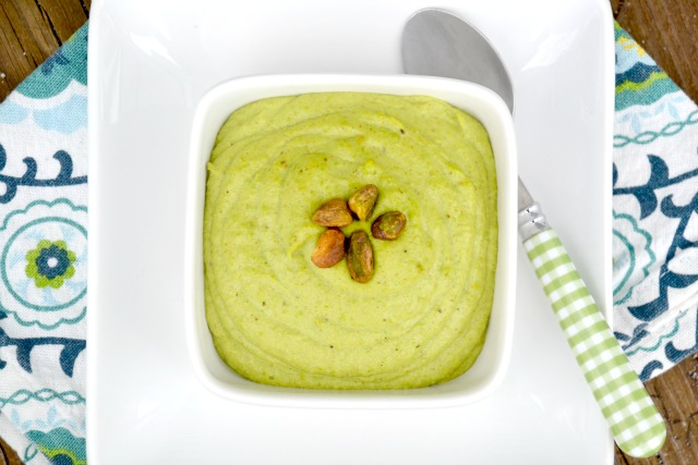 Pistachio Pea Pesto. Take five minutes to whip up a batch of this pesto that is like no other pesto you have tried before! www.superhealthykids.com