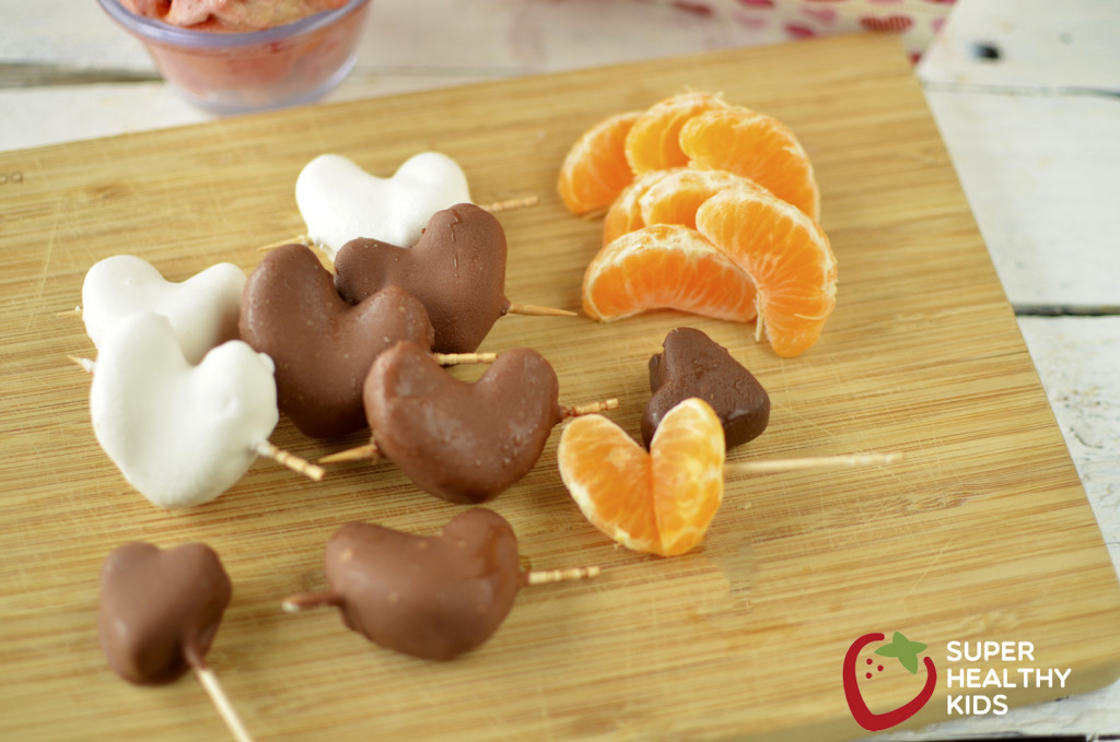 Teach Kids to Choose Fruit for Dessert- like Cuties. Healthy dessert for kids, made with fruit!