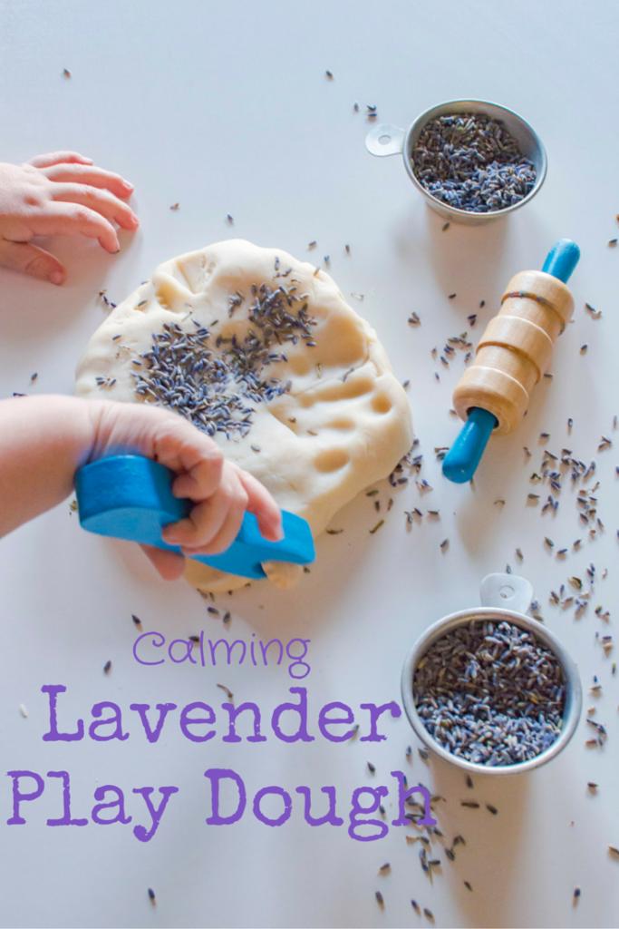 Calming Lavender Play Dough