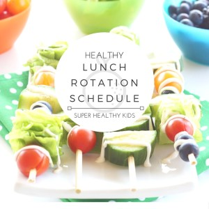 Healthy Lunch Weekly Planner