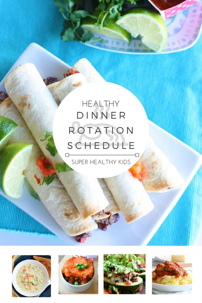 Healthy theme dinner rotation schedule and free meal plan healthy healthy dinner rotation schedule do you struggle with knowing what to eat for dinner every forumfinder Image collections