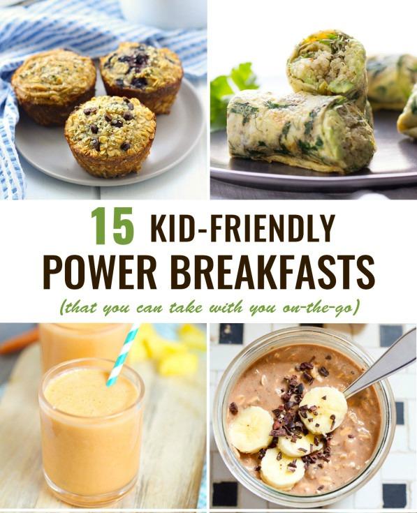 15 Kid-Friendly Power Breakfasts To Go