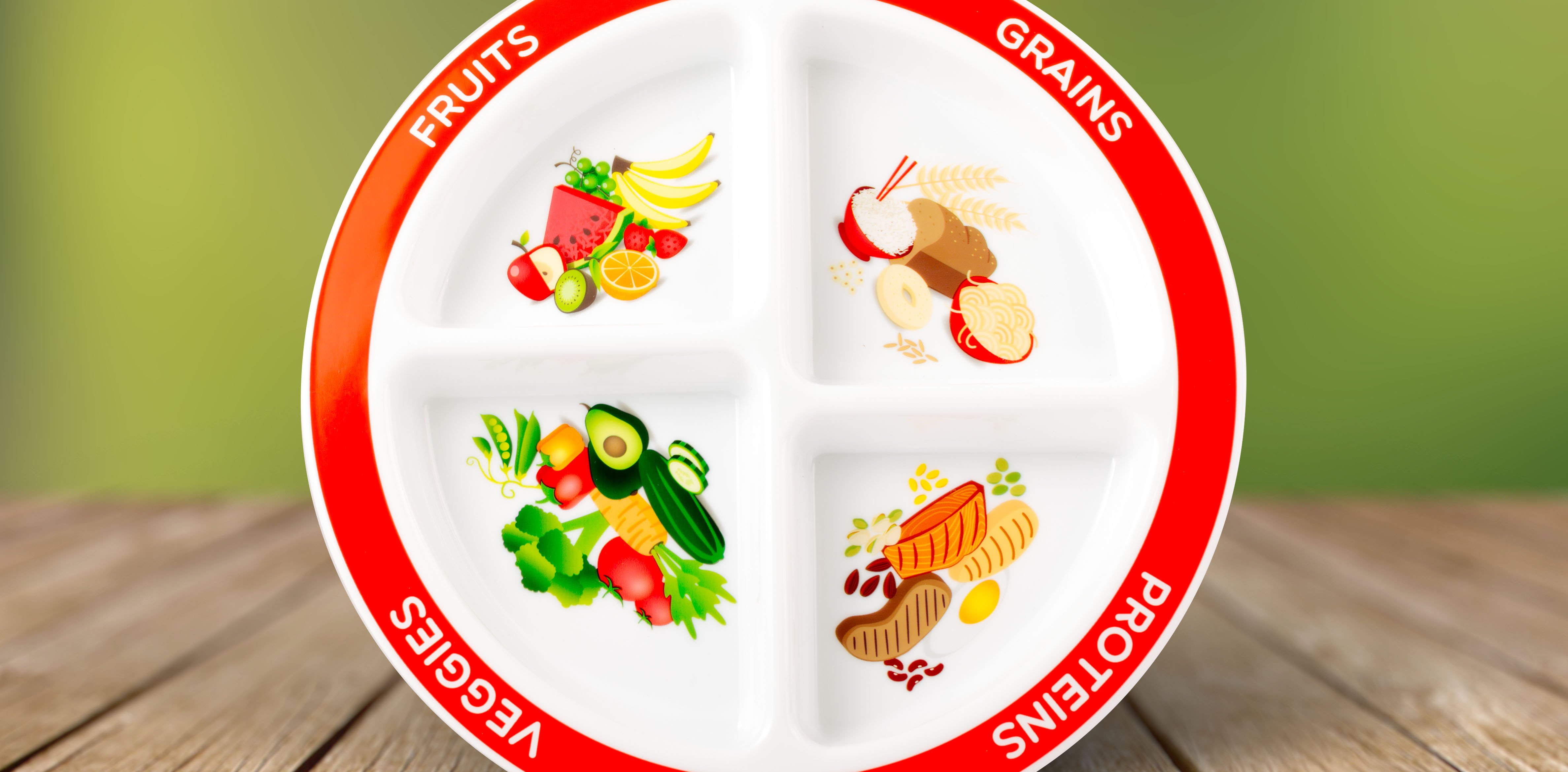 Myplate Focus On Fruits And Vegetables Healthy Ideas