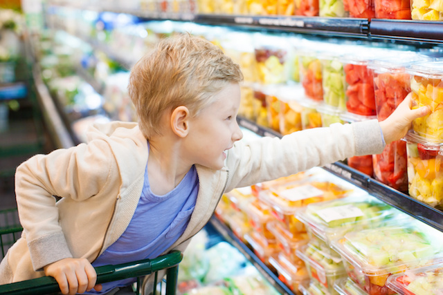 How to Help Your Children Try New Foods. Lots of great ideas here! kids picking out fruit in the store