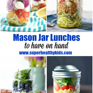 10 Mason Jar Lunches to Have on Hand