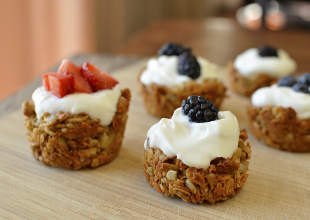 Homemade Granola Bar Bowls. Healthy breakfast idea! Homemade granola bar BOWLS! For kids!