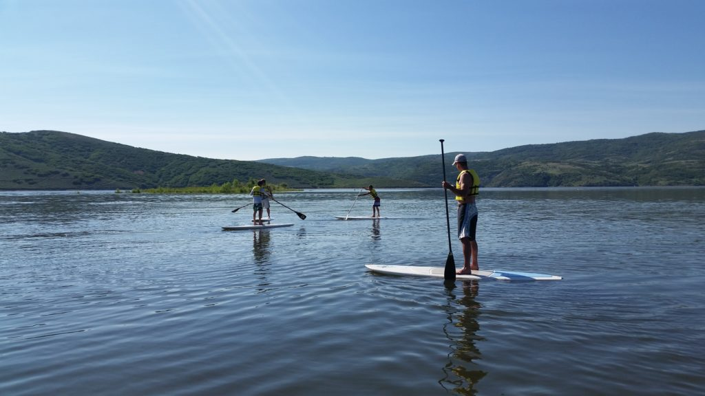 Things to do in heber valley utah paddle board on Jordanelle