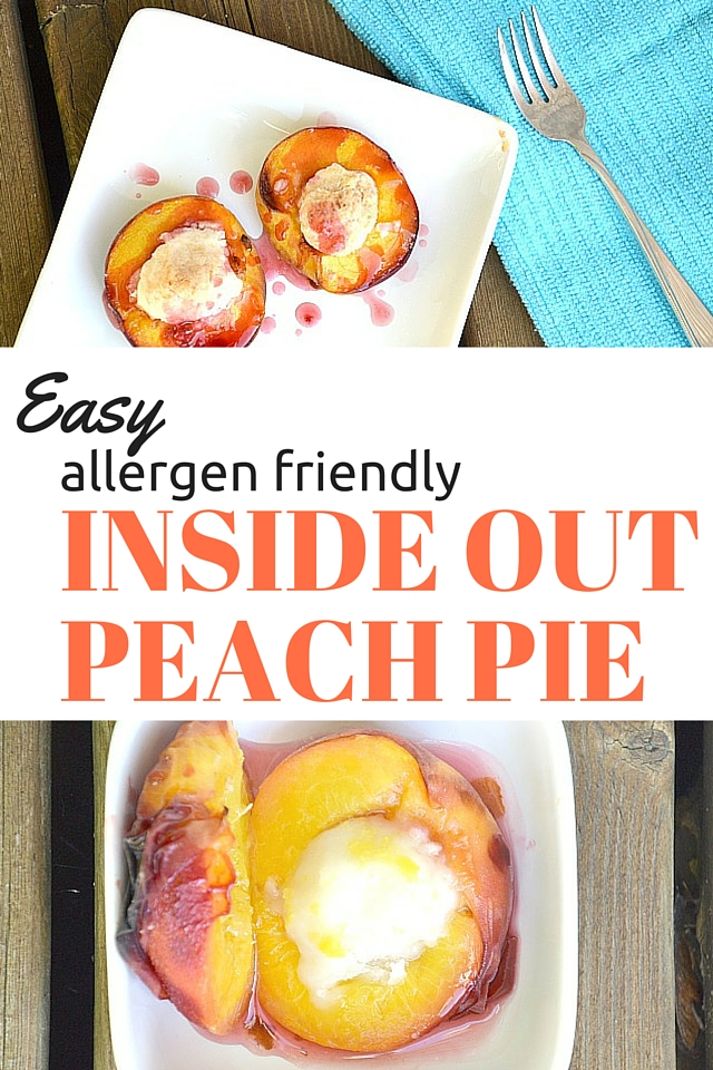 Easy Inside Out Peach Pie Recipe | Healthy Ideas for Kids