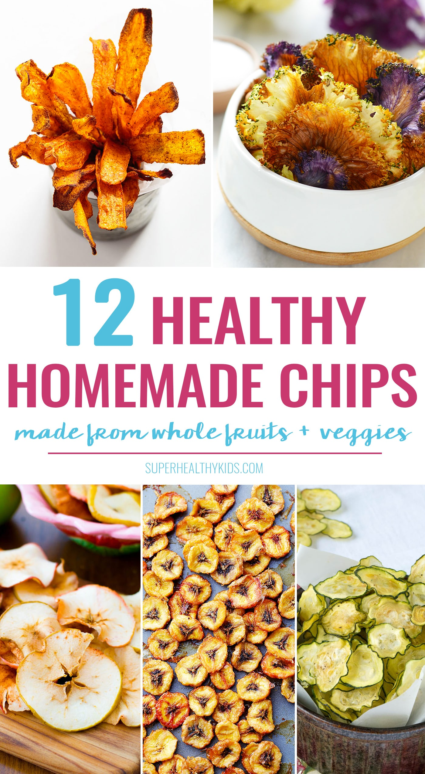 12 healthy homemade chip recipes healthy ideas for kids 12 super easy and crazy delicious homemade chip recipes made from whole fruits and forumfinder Choice Image