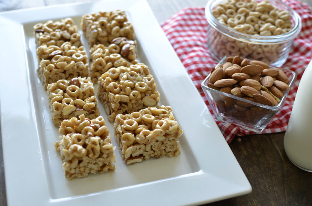 cereal bars to prep ahead